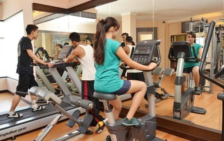 The Axana Hotel Padang - Gym