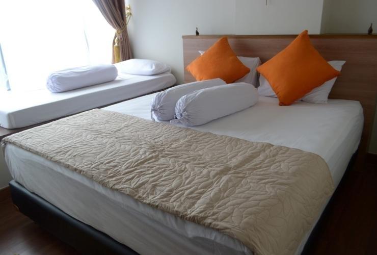 The Cabin Apartment Uttara Yogyakarta - Bedroom