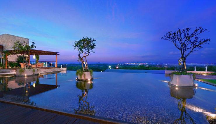Golden Tulip Bay View Hotel & Convention Bali - view from hotel