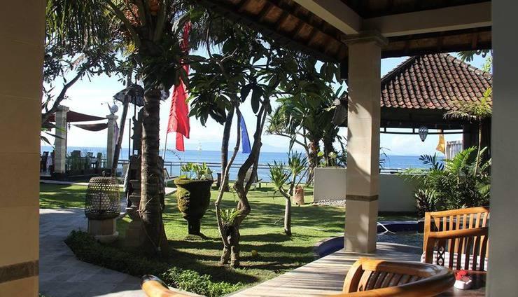 Bali Santi Bungalows Bali - Suite Keluarga depan laut