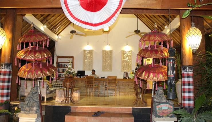 Bali Santi Bungalows Bali - LOBY HOTEL