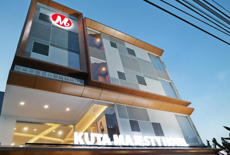 Kuta Majesty Hotel By Urban Styles Bali - Exterior