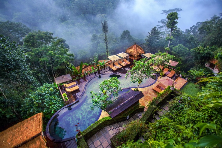 Nandini Jungle Resort Bali - Mystical Pool