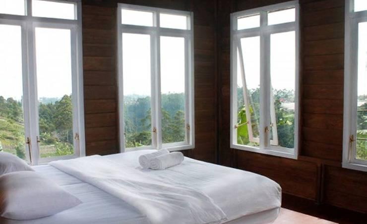 Villa Sand Lili Istana Bunga - Lembang Bandung Bandung - Kamar tamu