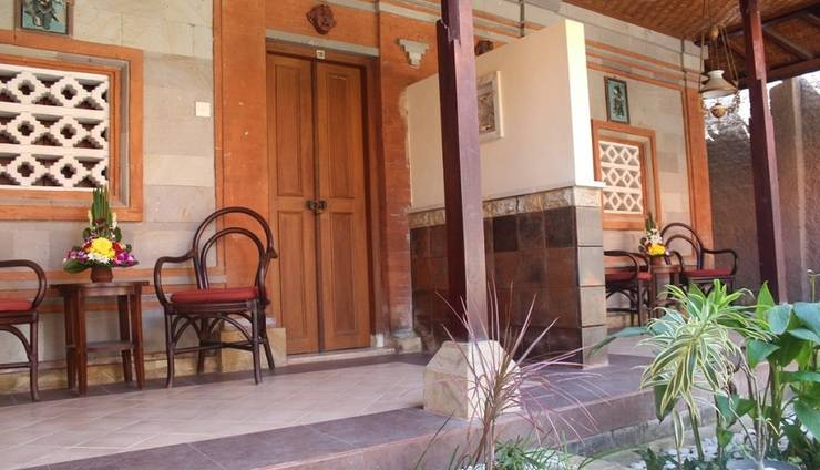 Hotel Sanur Indah Bali - Suite room view