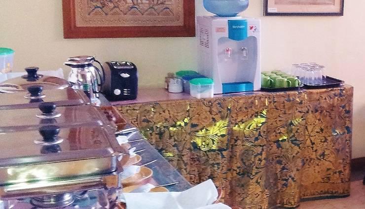 Hotel Sanur Indah Bali - tempat makan pagi