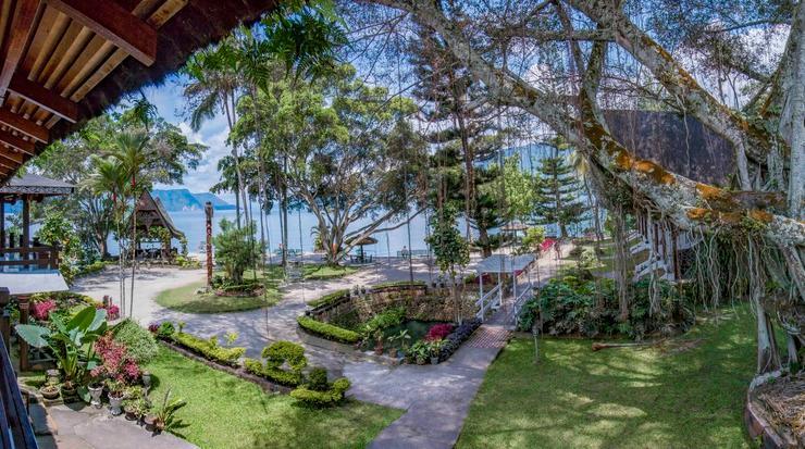 Carolina Cottage Danau Toba - pemandangan dari balkon