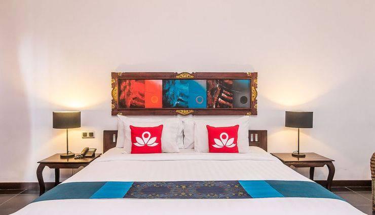 ZenRooms Ubud Sayan Bali - Tempat Tidur Double