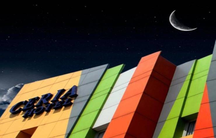 Ceria Hotel Jambi by Tritama Hospitality Jambi - Eksterior