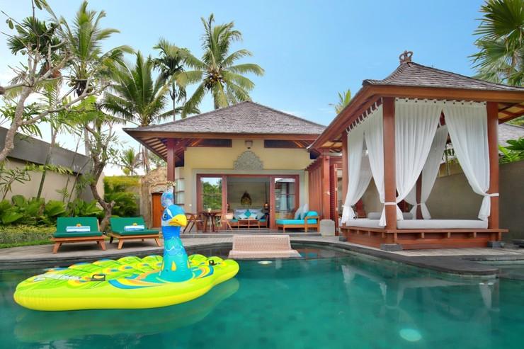 Aksari Resort Ubud Bali - Kolam Pribadi