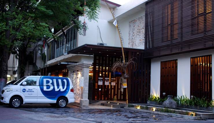 Best Western Kuta Villa Bali - Entrance