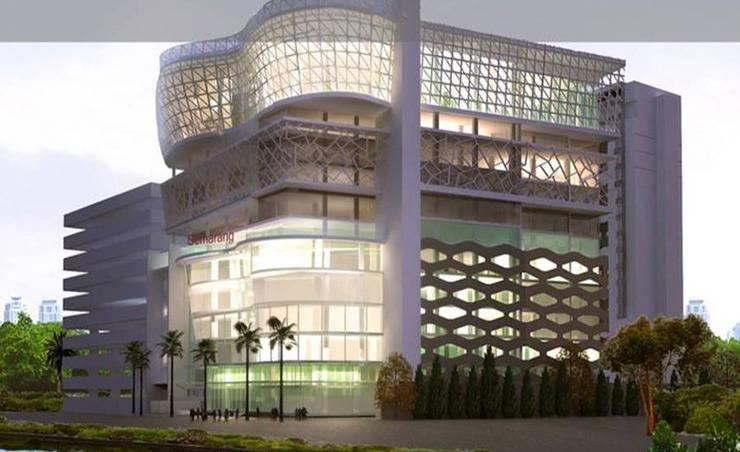 MG Setos Hotel Semarang - Tampilan Luar Hotel