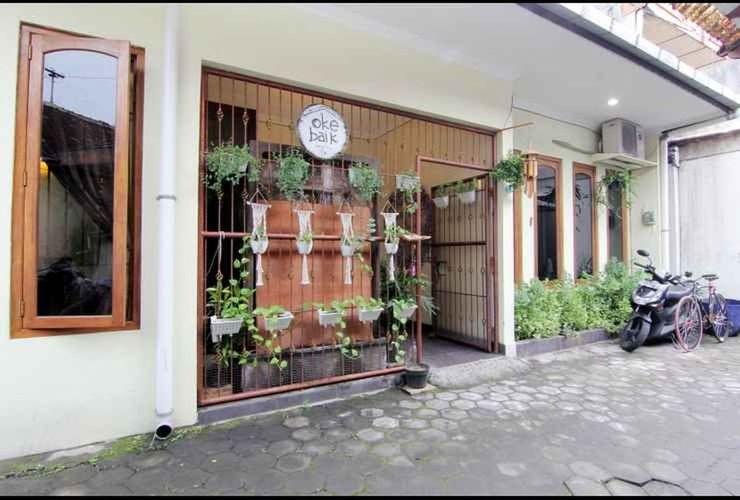 Oke Baik Hostel Yogyakarta - exterior