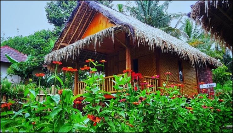 Ariel Bungalow Tetebatu Lombok - exterior