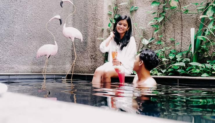 18 Suite Villa Loft Bali - private pool