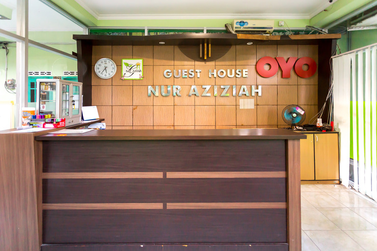 OYO 754 Nur Aziziah Guest House Balikpapan - Reception