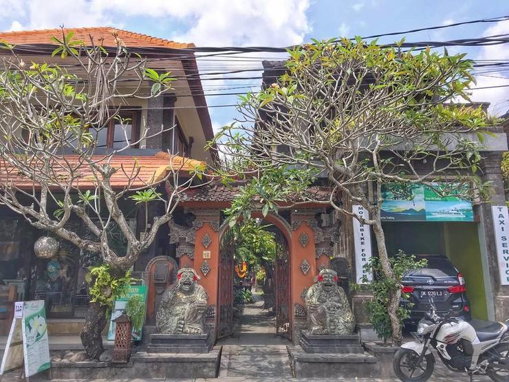 Dijumah Homestay Bali - Facade