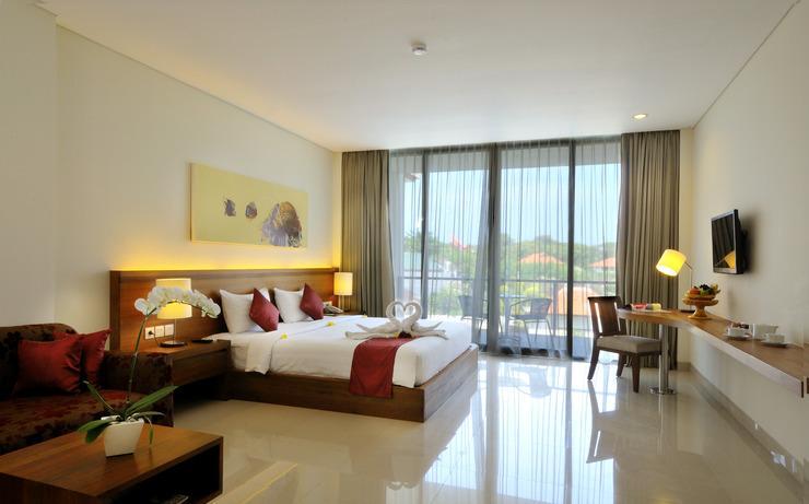 Taksu Sanur Hotel Bali - Kamar Tidur