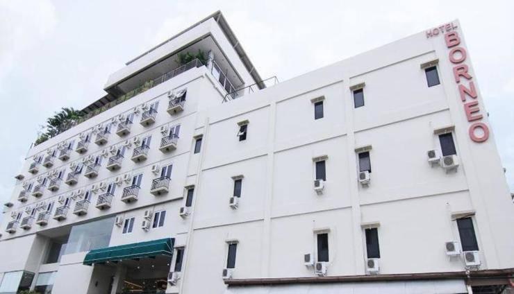 Hotel Borneo Pontianak - Tampilan Luar Hotel