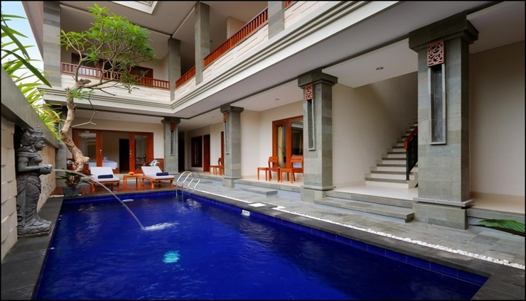 Singgah Hotel Seminyak Bali - exterior