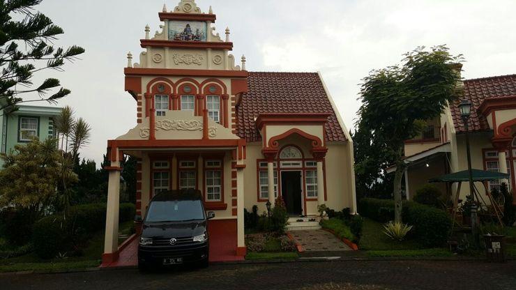 Villa Kota Bunga Homey (R9/14 Eindhoven) Cianjur - Facade