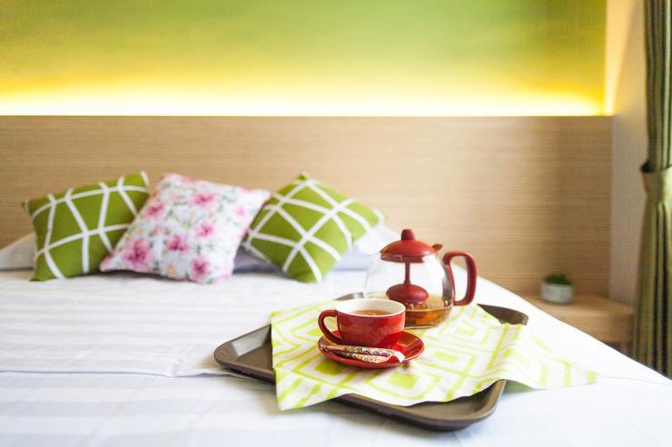 Azzahra Guest House Syariah Surabaya - Double bed