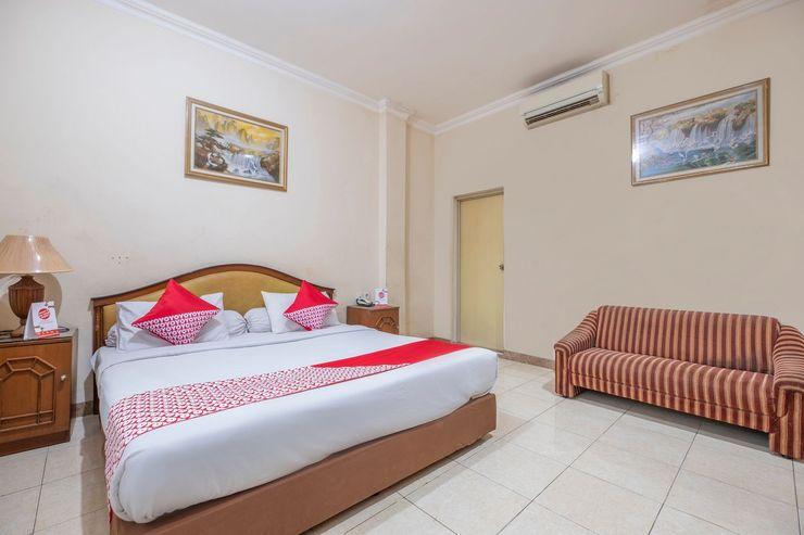 OYO 639 Hotel Harapan Makassar - Bedroom
