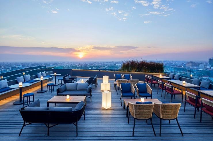 Artotel Gajahmada Semarang - Rooftop