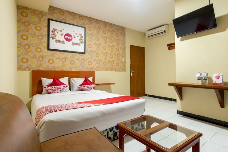 OYO 687 Residence Hotel Syariah Medan - Bedroom