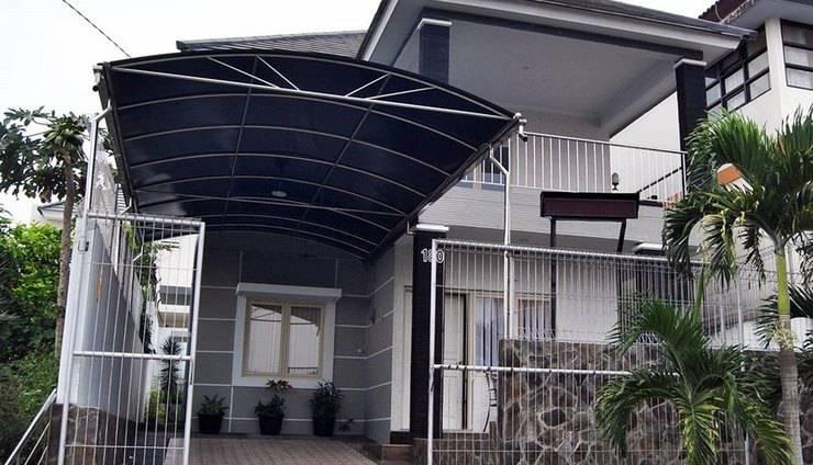 Villa Green Apple Malang - Tampak Depan