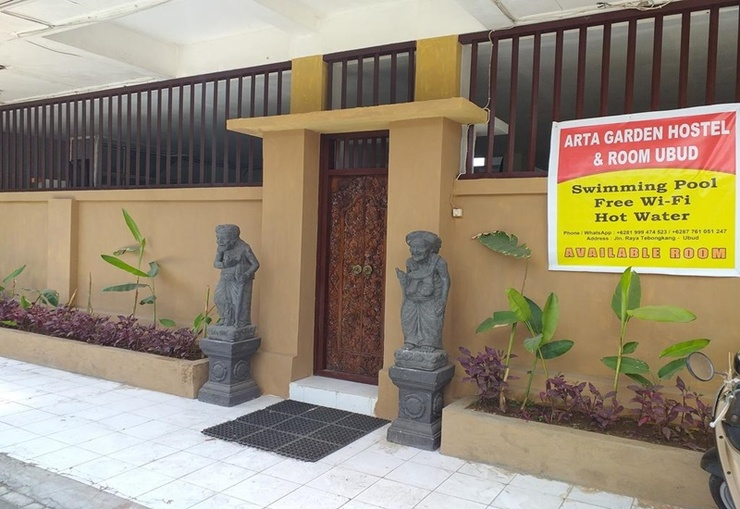 Arta Garden Hostel Bali - Exterior