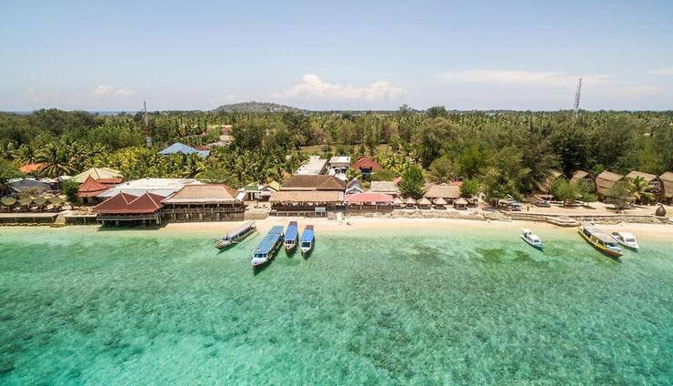 Kura Kura Resort Lombok - View