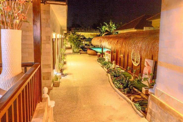Kura Kura Resort Lombok - Pemandangan Diluar Kamar