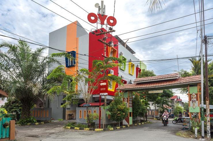 OYO 834 ALLETHA Guest House 1 Balikpapan - Facade