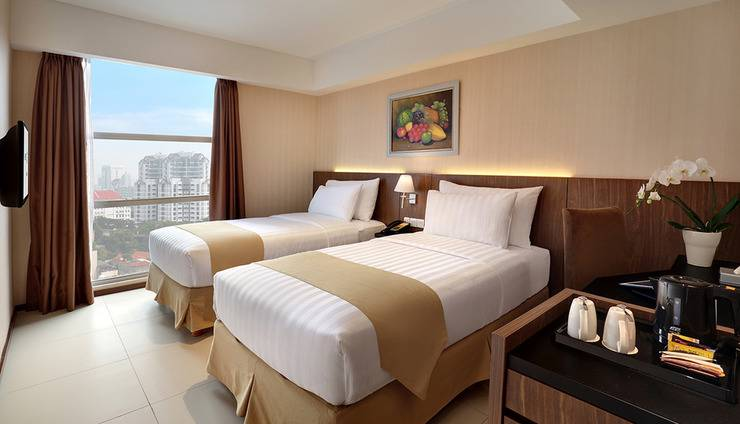 Marc Hotel Passer Baroe at Pasar Baru Mansion Jakarta - Deluxe Twin
