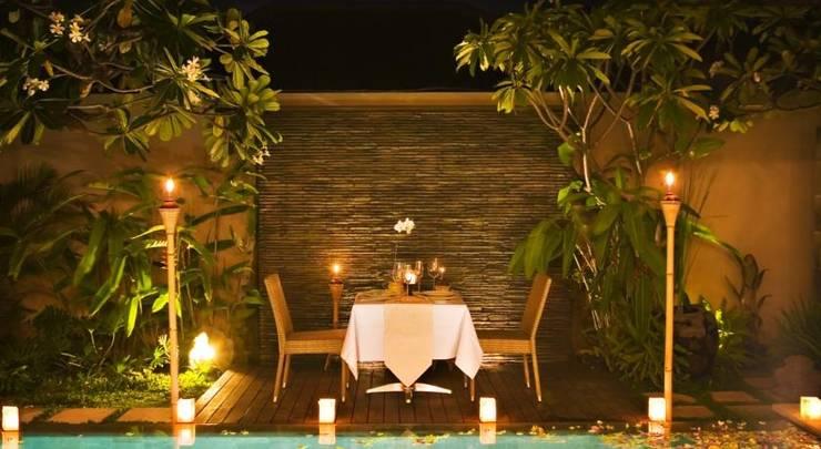 DISINI Luxury Spa Villa Bali - Dining outdoor