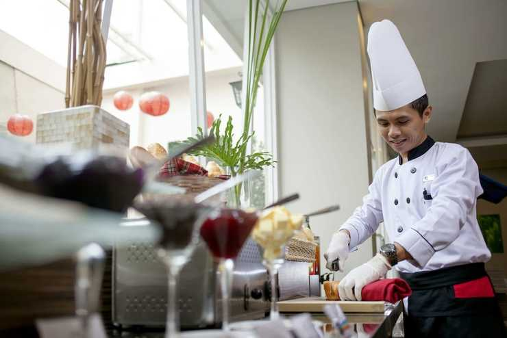 Hotel Dafam Fortuna  malioboro - Breakfast Area