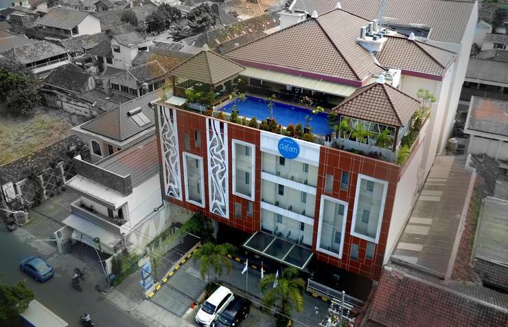 Hotel Dafam Fortuna  malioboro - Facade