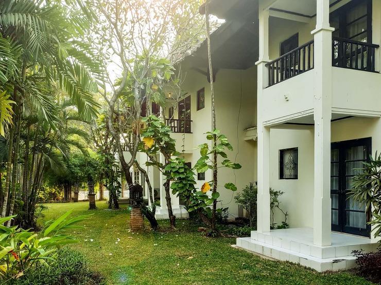 Graha Residen Surabaya - Halaman belakang Apartel 1 kamar