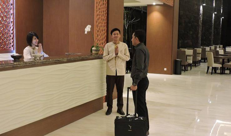 The Balava Hotel Malang - Resepsionis