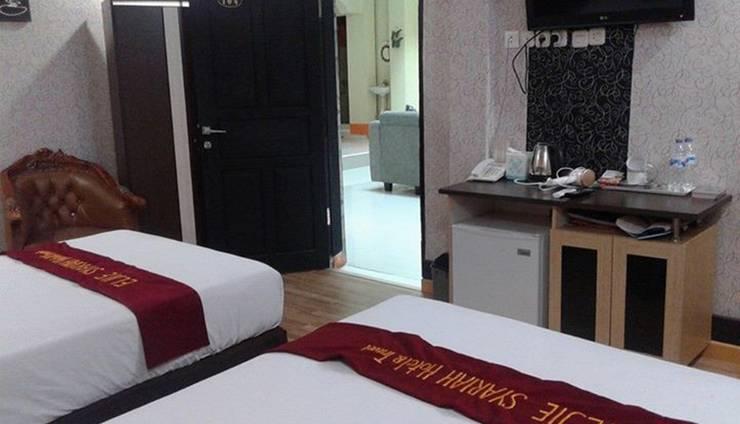 Eljie Hotel Gorontalo - INI ADALAH JENIS KAMAR SUITE DUA TEMPAT TIDUR