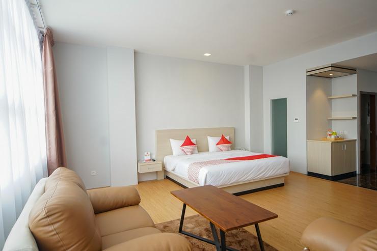 Capital O 315 Airish Hotel Palembang - Bedroom
