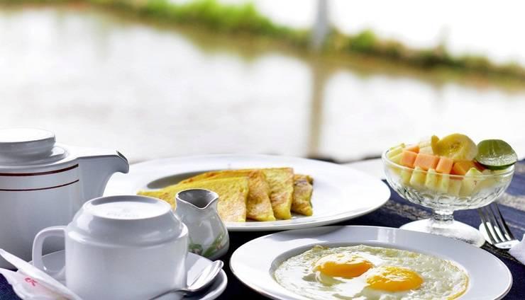Villa Bintang Ubud Bali - breakfast