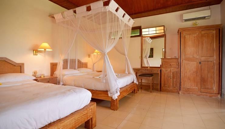 Villa Bintang Ubud Bali - Kamar tidur