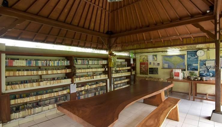 Villa Bintang Ubud Bali - perpustakaan