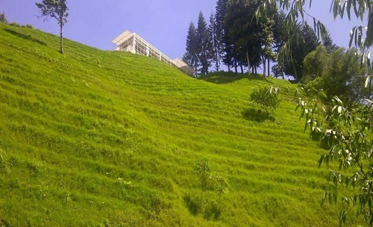 Bukit Cikahuripan Resort Bandung - Pemandangan gunung