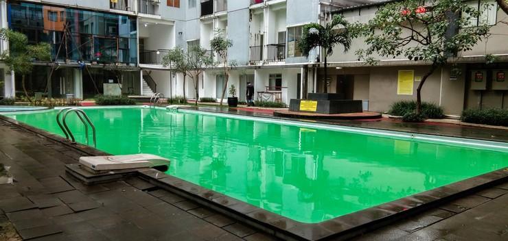 Comfortable 2BR Apartment at Paragon Village By Travelio Tangerang - Kolam renang