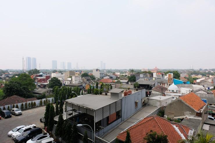 Comfortable 2BR Apartment at Paragon Village By Travelio Tangerang - Pemandangan kota