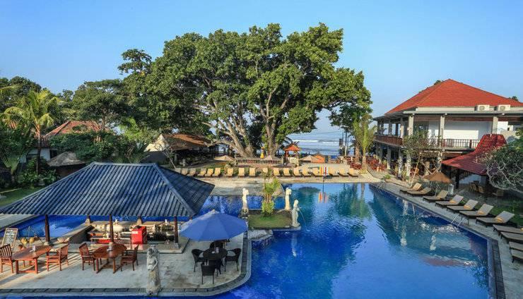 Puri Saron Hotel Seminyak - Kolam renang
