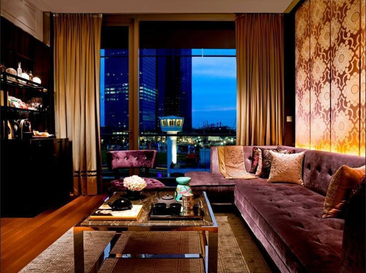 The Fullerton Bay Hotel Singapore - Living Area